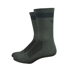 DeFeet Levitator Trail Dirtbagger - Calcetines - Oliva